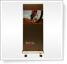 ROLL UP banner Outdoor 85 x 200