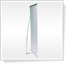 Banner  Display Clip-On Style X 160x200 - 1