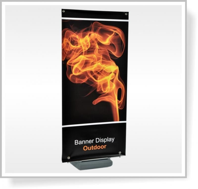 Banner Display Outdoor